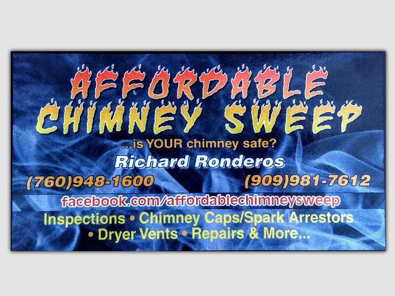 Chimney Sweeps High Desert Cleaning Inspections And